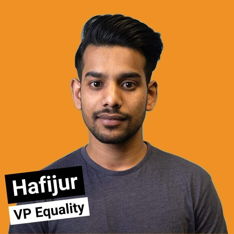 Hafijur - VP Equality